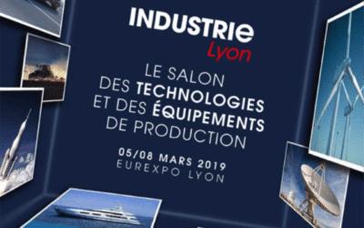 Le Salon INDUSTRIE LYON – 05/08 mars 2019