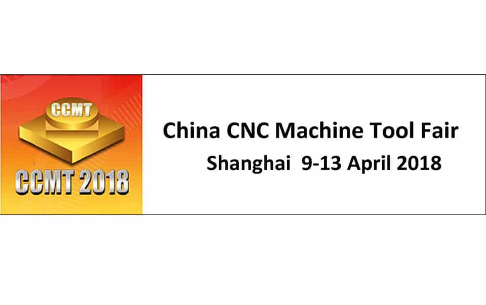 Salon CCMT SHANGHAI 9-13 avril 2018
