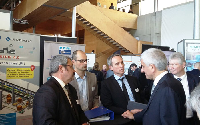Arnaud Sabia, leader of the CERI Group at the Industry Industry of the Future round table
