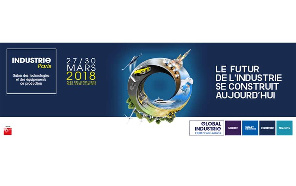 INDUSTRIE PARIS Exhibition 27-30 March 2018