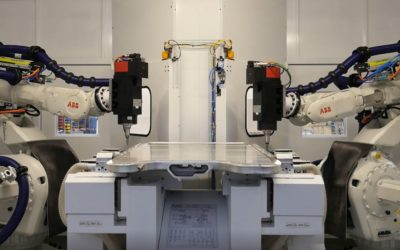 Discover video of our latest innovation 2018: robotic machining cell