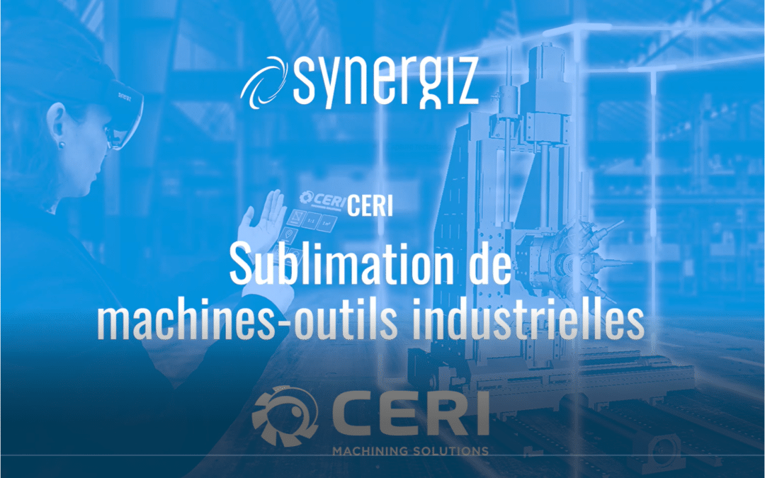 Sublimation of industrial machine tools