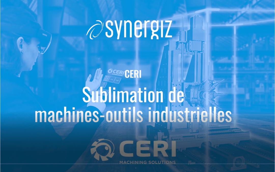 Sublimation de machines-outils industrielles