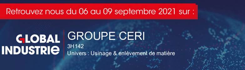 CERI sur salon Global Industrie à Lyon